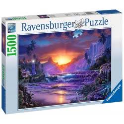 Ravensburger 1500 Pcs Puzzle Sunrise In Paradise 16359 4005556163595