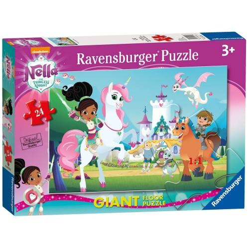 Ravensburger 24 pcs Floor Puzzle Nella, the Princess Knight 05553 4005556055531