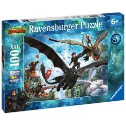 Ravensburger 100XXL pcs Dragons 10955 4005556109555