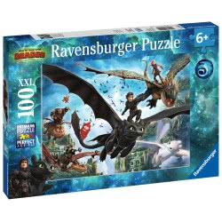 Ravensburger Παζλ 100XXL τεμ. Δράκοι 10955 4005556109555