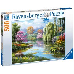 Ravensburger 500 Pcs Puzzle Romantic Scenery 14827 4005556148271