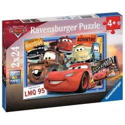 Ravensburger 2x24 pcs Puzzle Cars 7819 4005556078196