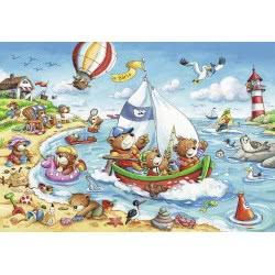 Ravensburger 2X24 Pcs Puzzle Vacation 7829 4005556078295