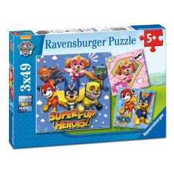 Ravensburger 3x49 pcs Puzzle Paw Patrol 8036 4005556080366