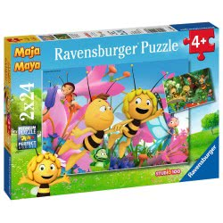 Ravensburger 2X24 Pcs Puzzle Maya The Bee 9093 4005556090938