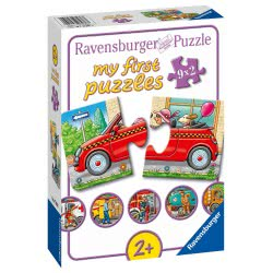 Ravensburger Τα Πρώτα Μου Παζλ 9X2τεμ. Οχήματα 7036 4005556070367