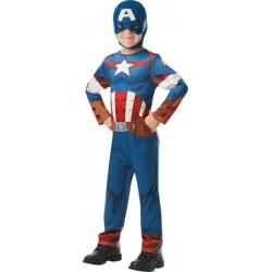 Rubies Αποκριάτικη Στολή Marvel Avengers Κάπτεν Αμέρικα No. L (7-8 χρονών) 300164/7-8 883028342815