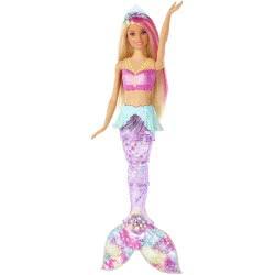 Mattel Barbie Dreamtopia Sparkle Lights Mermaid GFL82 887961765236