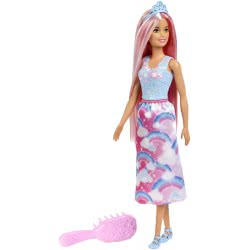 Mattel Barbie Dreamtopia Pink Hair Doll FXR94 887961698732