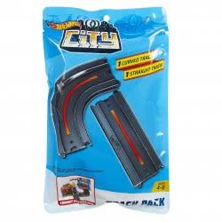 Mattel Hot Wheels City Αξεσουάρ Σύνδεσης Πιστών (1 Καμπυλωτή και 1 Ευθεία Διαδρομή) FXM38 / FXM40 887961695403