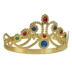 Fun Fashion Στέμμα Βασίλισσας με Πολύχρωμα Διαμάντια - 2 Χρώματα 80601 5204745806018