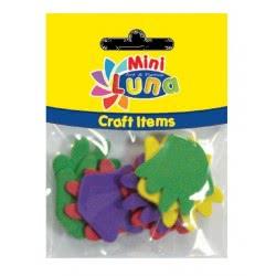 LUNA OFFICE Mini Luna Craft Items Fabric Shapes 33mm 10 pieces 0620999 5205698130953