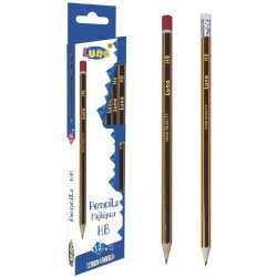 LUNA OFFICE Pencil HB2 Pack of 12 000077101 5205698030093