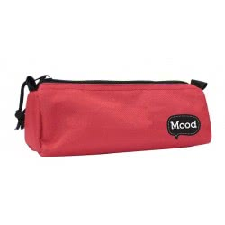 LUNA OFFICE Pencil Case With Zipper Red Mood Chrome 0072662 5205698115486