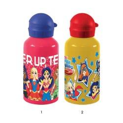 Diakakis imports Aluminium Canteen 500ml Super Hero Girls - 2 Designs 504923 5205698227554