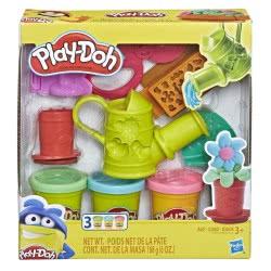 Hasbro Play-Doh Growin Garden Toy Gardening Tools Σετ 3 Πλαστοζυμαράκια E3342 / E3564 5010993554607