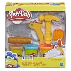 Hasbro Play-Doh Toolin Around Toy Tools Set With 3 Colours E3342 / E3565 5010993554614