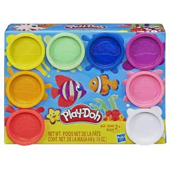 Hasbro Play-Doh Rainbow Μη Τοξικά Πλαστοζυμαράκια Με 8 Χρώματα E5044 / E5062 5010993560196