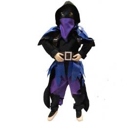 CLOWN Στολή Αποκριάς Skin Master Raven Fortnite No. 06 32406 5203359324062