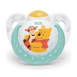 NUK Πιπίλα Trendline Winnie The Pooh Latex 18-36M - 3 Designs 10737819 4008600286349