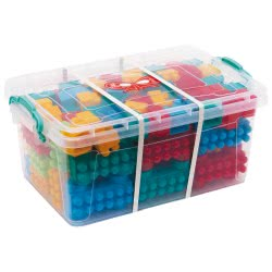 Argy Toys Πολύχρωμα Τουβλάκια 182 Τεμαχίων σε Κουτί Αποθήκευσης 213 8690304002514