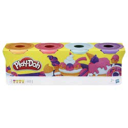 Hasbro Playdoh Sweet Pack 4 Βαζάκια B5517 / E4869 5010993558988