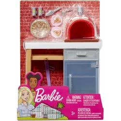 Mattel Barbie Έπιπλα Εξωτερικού Χώρου - Φούρνος Πίτσας FXG37 / FXG39 887961690620