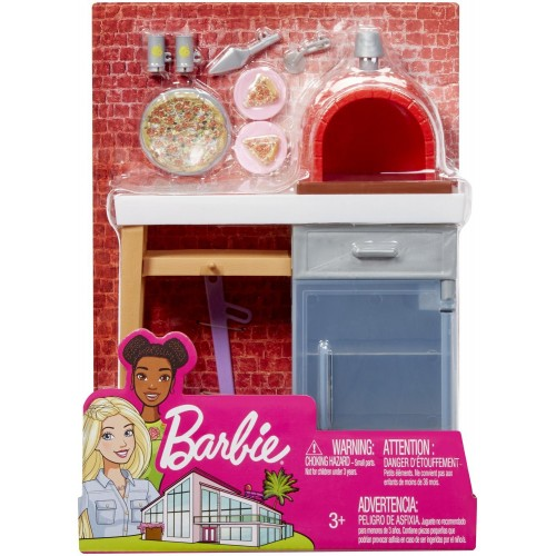 Mattel Barbie Pizza Oven FXG37 / FXG39 887961690620