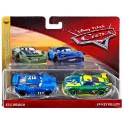 Mattel Disney/Pixar Cars 3 Eric Braker And Spikey Fillups Pack Of Two DXV99 / FLH57 887961558500