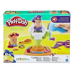 Hasbro Play-Doh Fuzzy Pumper Barber Shop E9230 5010993565078