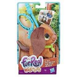 Hasbro Furreal Walkalots Lil Wags Puppy - Σκυλάκι Καφέ E3503 / E4771 5010993543779