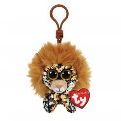 ty Flippables Plush Clip Sequin Lion 8,5 cm 1607-35310 008421353101