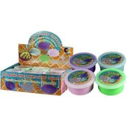 Fun Trading Putty Fluffy Με Glitter Άμμος Βαζάκι 75G - 4 Xρώματα 10104778 4260059599818