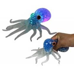 Gama Brands Squishy Squeezy Crystal Octopus 10104765 4260059599672