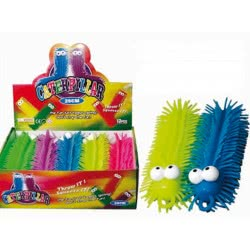 Fun Trading Squishy Squeezy Caterpillar 25 Cm With Light - 5 Colours 10104787 4260059599955