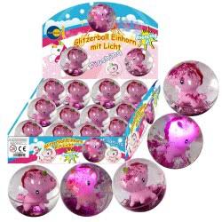 Fun Trading Μπάλα Μονόκερος Γκλίτερ Με Φως 10104744 4260059599320
