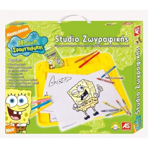 As company Παλέτα Ζωγραφικής Sponge Bob 1023-56365 5203068563653