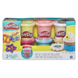 Hasbro Play-Doh Confetti Compound Collection Πλαστοζυμαράκια B3423 5010993556458