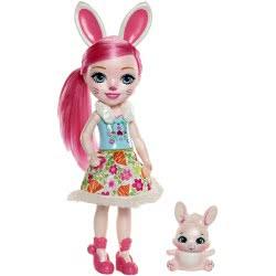 Mattel Enchantimals Big Doll - Bree Bunny With Twist FRH51 / FRH52 887961625776