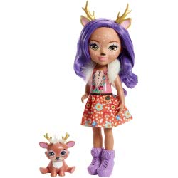 Mattel Enchantimals Μεγάλη Κούκλα - Danessa Deer με Sprint FRH51 / FRH54 887961625769