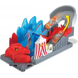 Mattel Hot Wheels City Η Επίθεση Του Δεινόσαυρου Πίστα Με Τέρατα FNB05 / GBF93 887961713909