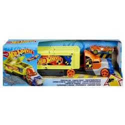 Mattel Hot Wheels Νέα Deluxe Νταλίκα Με Αυτοκινητάκι GCK39 887961729092