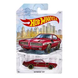 Mattel Hot Wheels Vehicle 69 Pontiac GTO 1:64 GDG44 / FYY11 887961748345