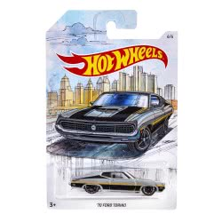 Mattel Hot Wheels Vehicle 70 Ford Torino 1:64 GDG44 / FYY14 887961748352