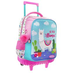 MUST Primary School Trolley Backbag Lama Pink 34X20x45 Cm 000579543 5205698423895