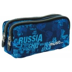 MUST Energy Pencil Case Map Letters 20x9x6 εκ. 000579352 5205698244797