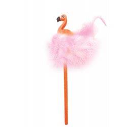Diakakis imports The Littlies Pencil With Eraser Flamingo - 2 Colours 000646532 5205698432545