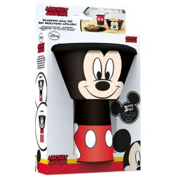 Diakakis imports Mickey Mouse Stacking Meal Set 59077 000562291 5205698433139