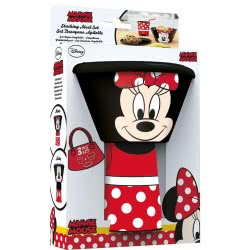 Diakakis imports Minnie Mouse Stacking Meal Set 59577 000562292 5205698433153
