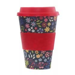 Diakakis imports Tesoro Bamboo Cup 480ml - 4 Designs 000582145 5205698429392